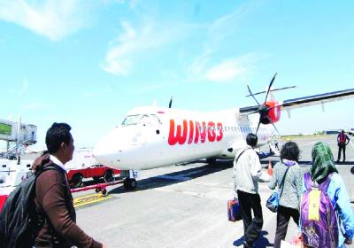 Wings Air Setop Dua Penerbangan di Kepulauan