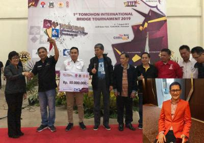 Tim Raewaya 1 Jawara Internasional Bridge Tournament TIFF 2019